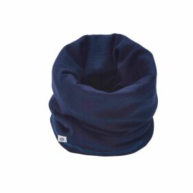Smalls Merino - Women's 100% Traceable Superfine Merino Snood In French Navy