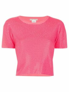Alice+Olivia crystal accent top - PINK