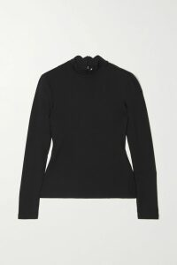 Alexander McQueen - Printed Silk-crepe Blouse - Red