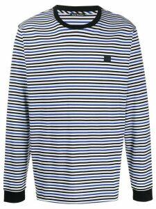 Acne Studios Striped long-sleeved T-shirt - Blue