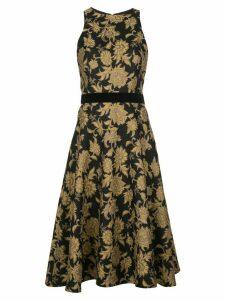 Tadashi Shoji Preecha jacquard dress - Black