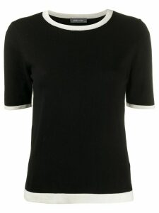 Philo-Sofie relaxed fit knitted top - Black