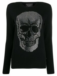 Philipp Plein skull pullover - Black
