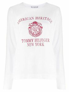 Tommy Hilfiger heritage print T-shirt - White
