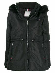 Tommy Hilfiger hooded padded jacket - Black