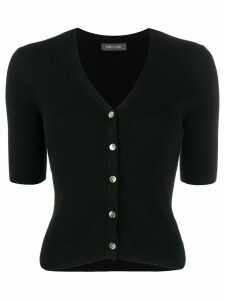 Philo-Sofie short-sleeved cardigan - Black