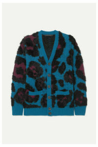 Runway Marc Jacobs - Jacquard-knit Cardigan - Blue