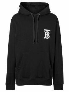 Burberry monogram hoodie - Black