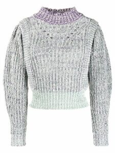 Isabel Marant Étoile knitted jumper - PURPLE