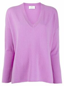 Allude V-neck jumper - PURPLE