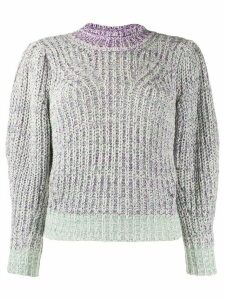 Isabel Marant Étoile knitted chunky jumper - PURPLE