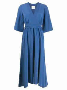 Forte Forte loose fit midi dress - Blue