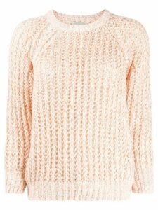 Forte Forte chunky knit jumper - PINK