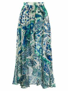 Twin-Set paisley print maxi skirt - Blue