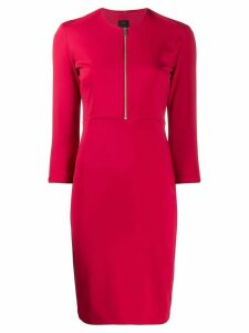 Pinko half-zip midi dress - Red