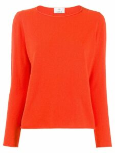 Allude crew neck jumper - ORANGE