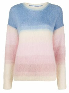 Isabel Marant Étoile knitted colour-block jumper - PINK