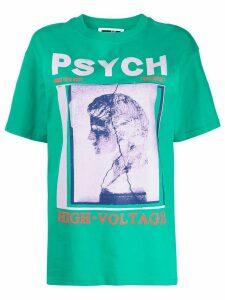 McQ Alexander McQueen graphic print T-shirt - Green