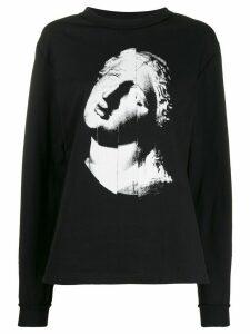 McQ Alexander McQueen graphic print sweatshirt - Black