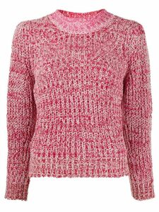Isabel Marant Étoile knitted mock-neck jumper - PINK