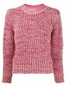 Isabel Marant Étoile knitted mock-neck jumper - PINK