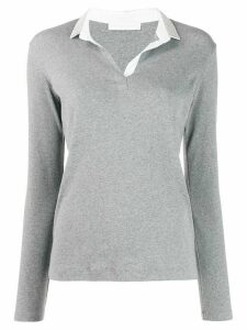 Fabiana Filippi slim-fit jumper - Grey