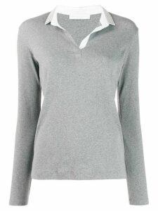 Fabiana Filippi slim-fit jumper - Grey