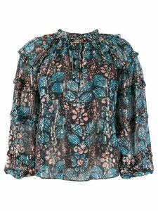 Ulla Johnson abstract print blouse - Blue