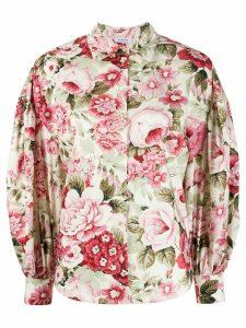 P.A.R.O.S.H. Corus floral print shirt - NEUTRALS