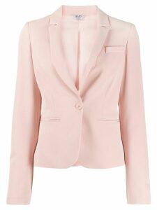 LIU JO tailored single-breasted blazer - PINK