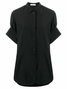 JW Anderson shortsleeved silk shirt - Black