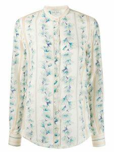 Forte Forte floral print shirt - NEUTRALS
