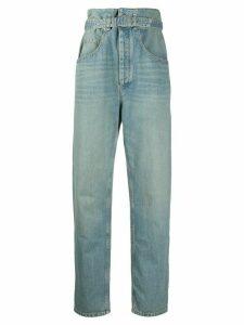 Isabel Marant Étoile Gloria high-rise jeans - Blue