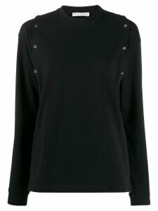 JW Anderson button detail top - PINK