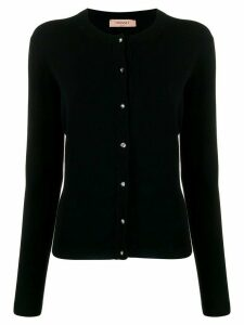 Twin-Set slim-fit knit cardigan - Black