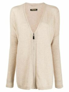 Max & Moi cashmere knitted cardigan - Brown