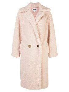 Apparis faux fur coat - PINK