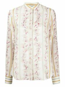 Forte Forte floral print shirt - PINK