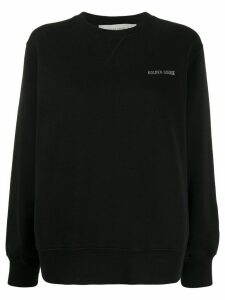 Golden Goose Sneakers Lover print sweatshirt - Black