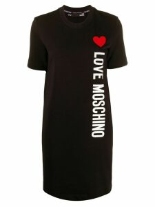 Love Moschino short sleeve logo top - Black