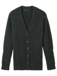 Proenza Schouler oversized v-neck cardigan - Grey