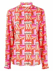 MSGM letter M printed shirt - PINK