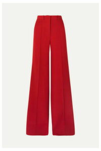 Victoria Beckham - Wool Wide-leg Pants - Red