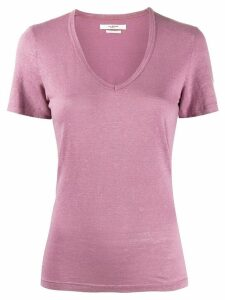 Isabel Marant Étoile v-neck jersey T-shirt - PINK