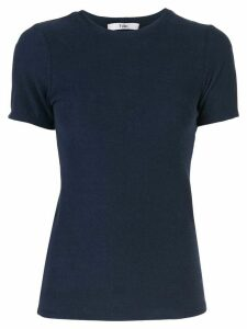 Tibi terry baby T-shirt - Blue