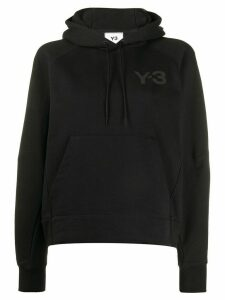 Y-3 regular-fit hoodie - Black