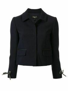 Paule Ka bow cuff jacket - Blue