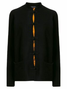 Shanghai Tang Chinoiserie Tang-style cardigan - Black