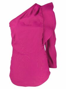 Isabel Marant Étoile structured one-shoulder top - PINK