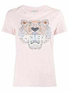 Kenzo Tiger logo T-shirt - PINK